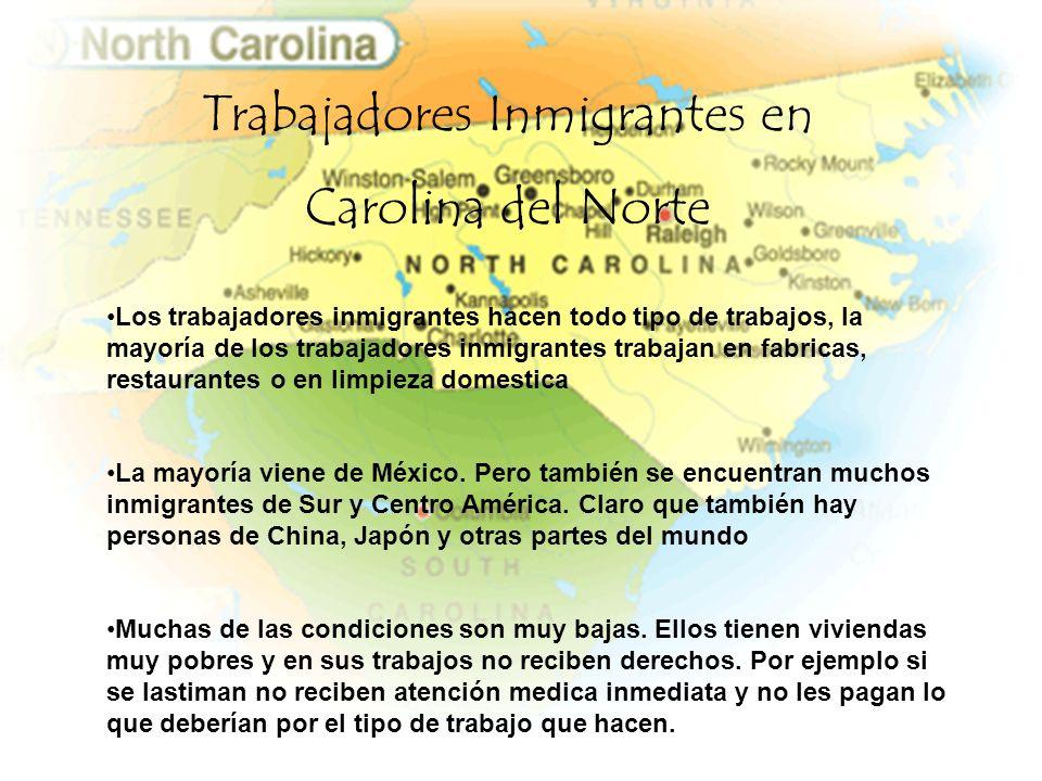 Trabajadores Inmigrantes en