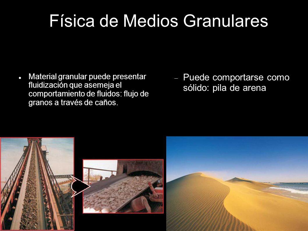 Física de Medios Granulares