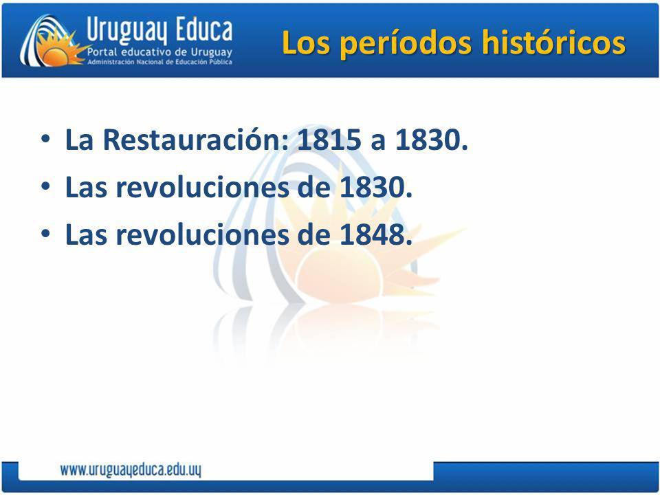 Los períodos históricos