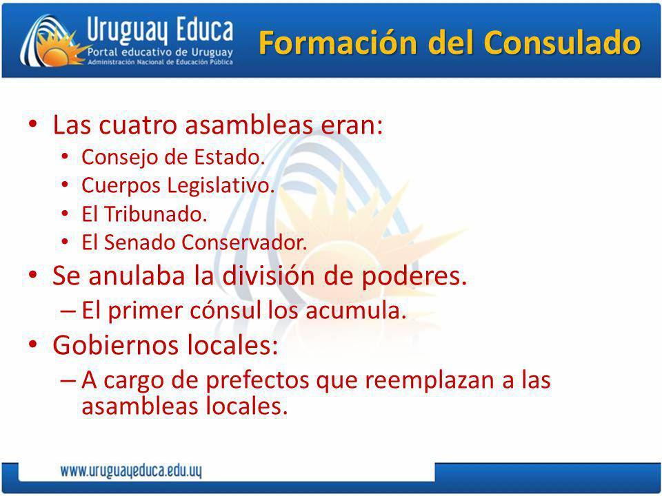 Formación del Consulado