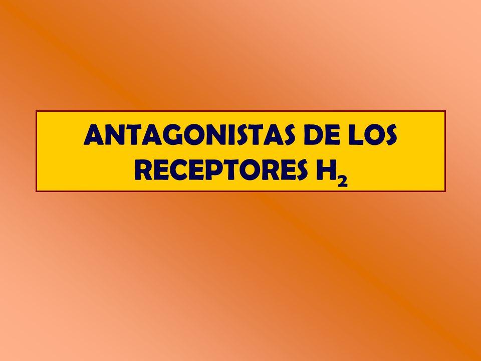 ANTAGONISTAS DE LOS RECEPTORES H2