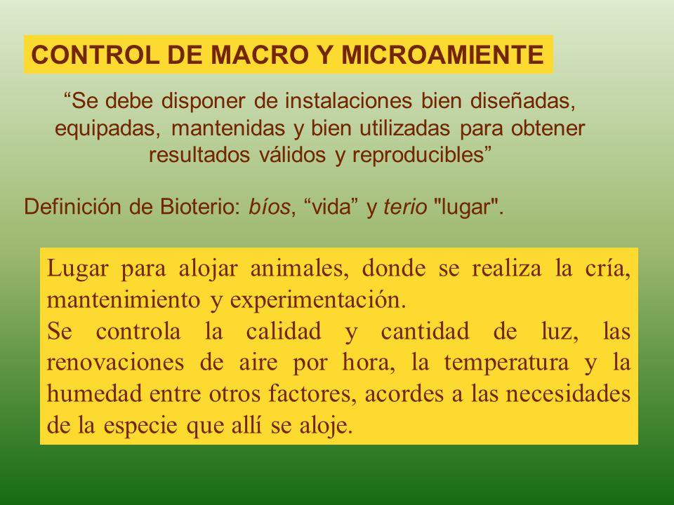 CONTROL DE MACRO Y MICROAMIENTE