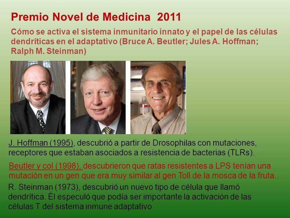 Premio Novel de Medicina 2011