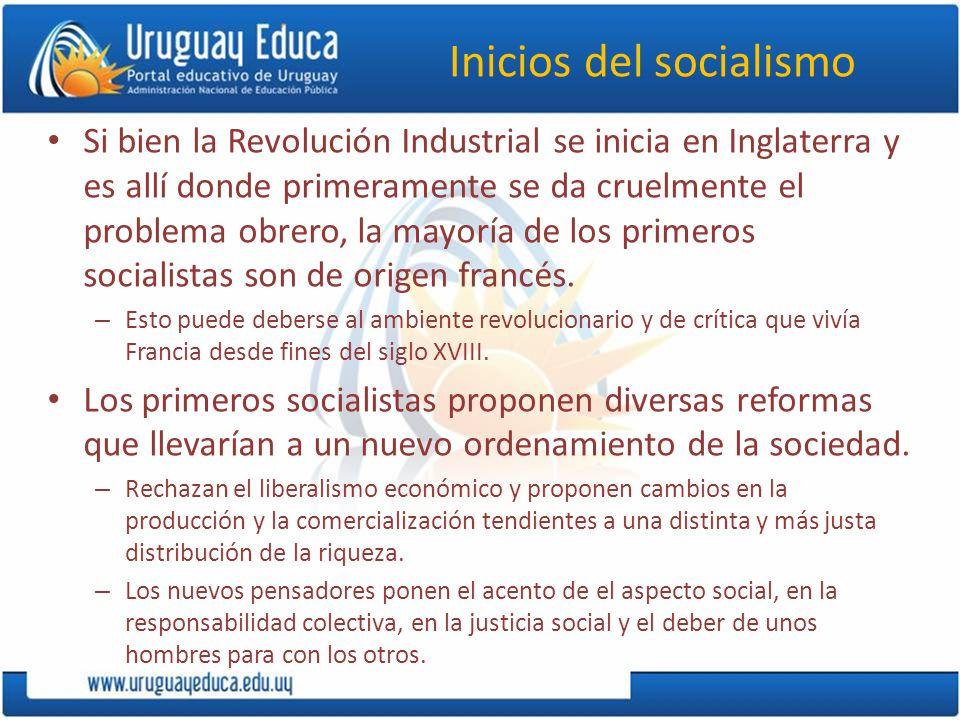 Inicios del socialismo