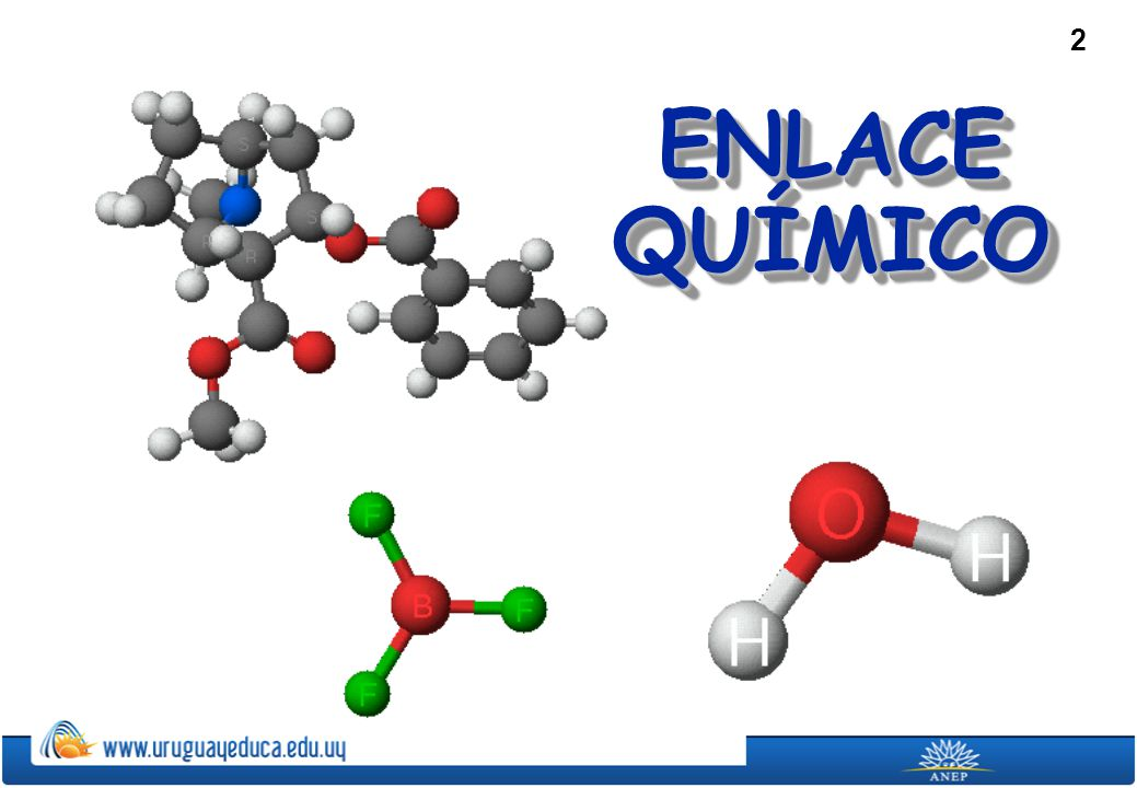 ENLACE QUÍMICO To play the movies and simulations included, view the presentation in Slide Show Mode.