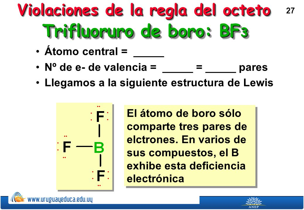 Trifluoruro de boro: BF3