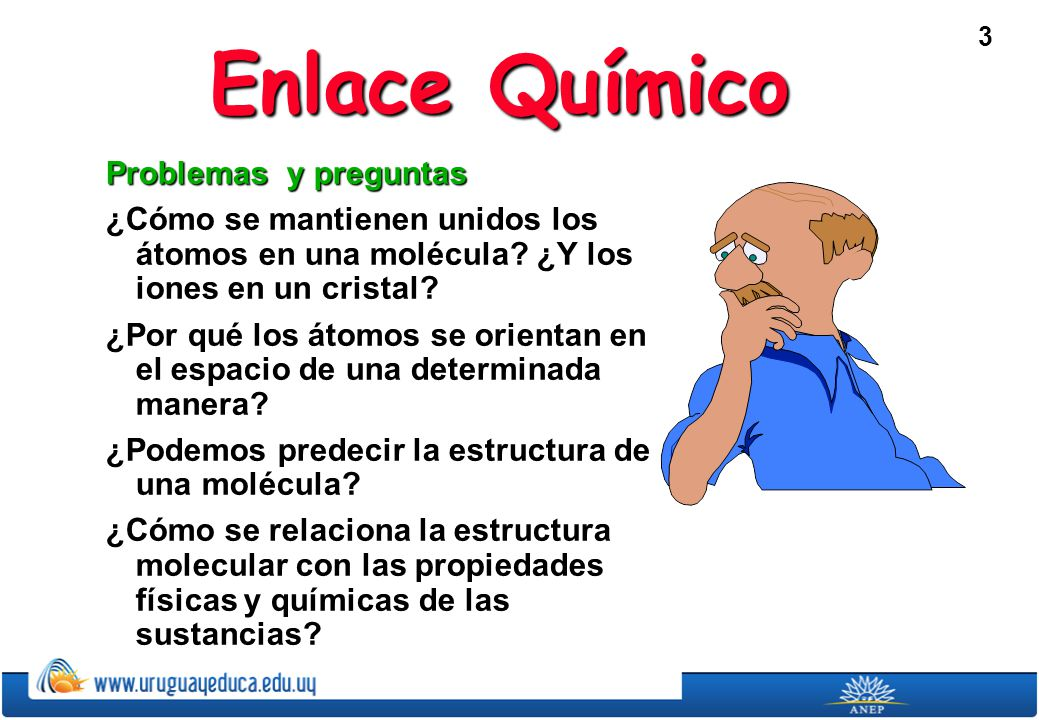 Enlace Químico Problemas y preguntas