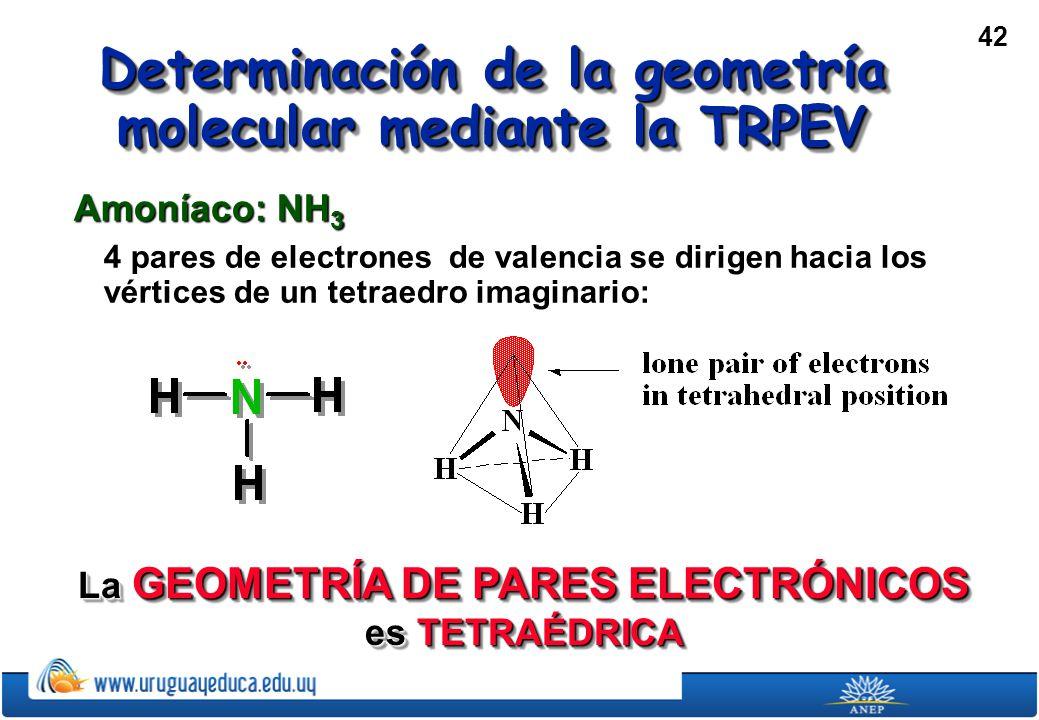 Determinación de la geometría molecular mediante la TRPEV