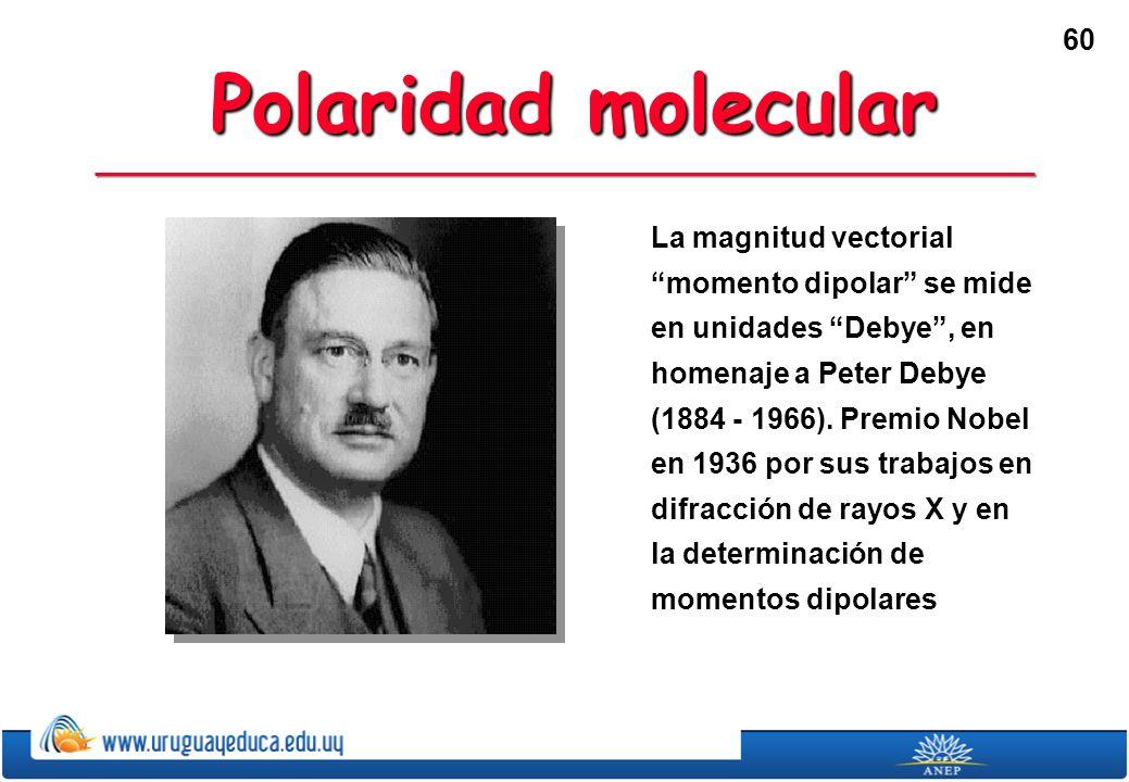 Polaridad molecular