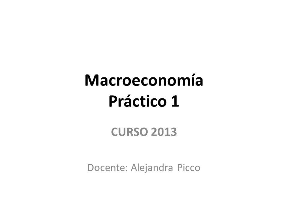 Macroeconomía Práctico 1