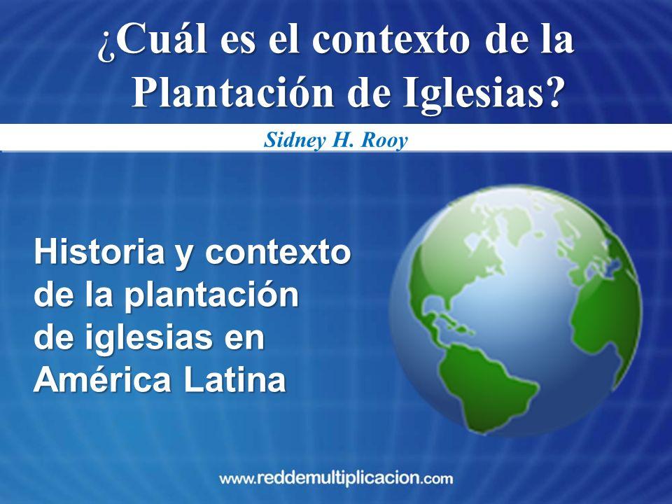 ¿Cuál es el contexto de la Plantación de Iglesias