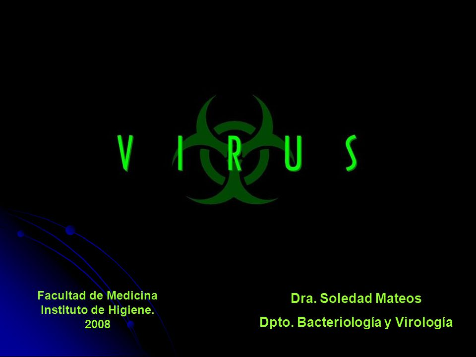 Dpto. Bacteriología y Virología
