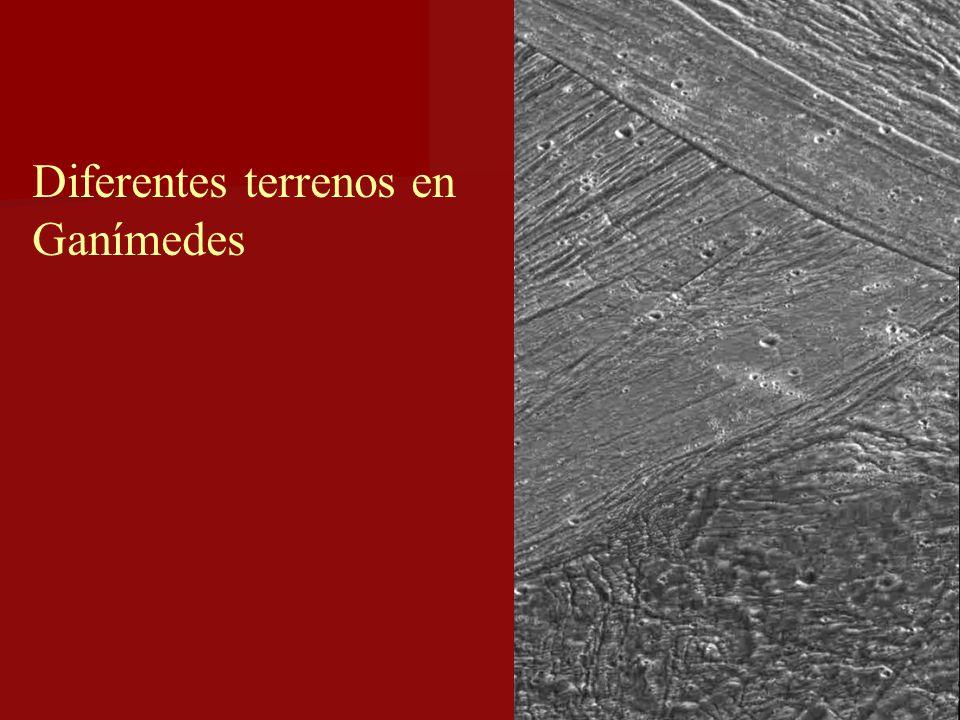 Diferentes terrenos en Ganímedes