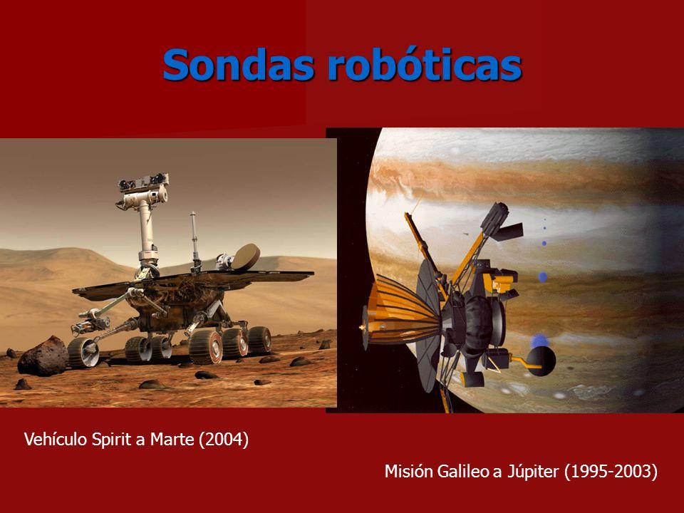 Sondas robóticas Vehículo Spirit a Marte (2004)