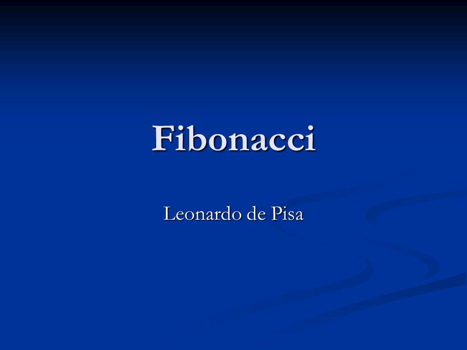 Fibonacci Leonardo de Pisa