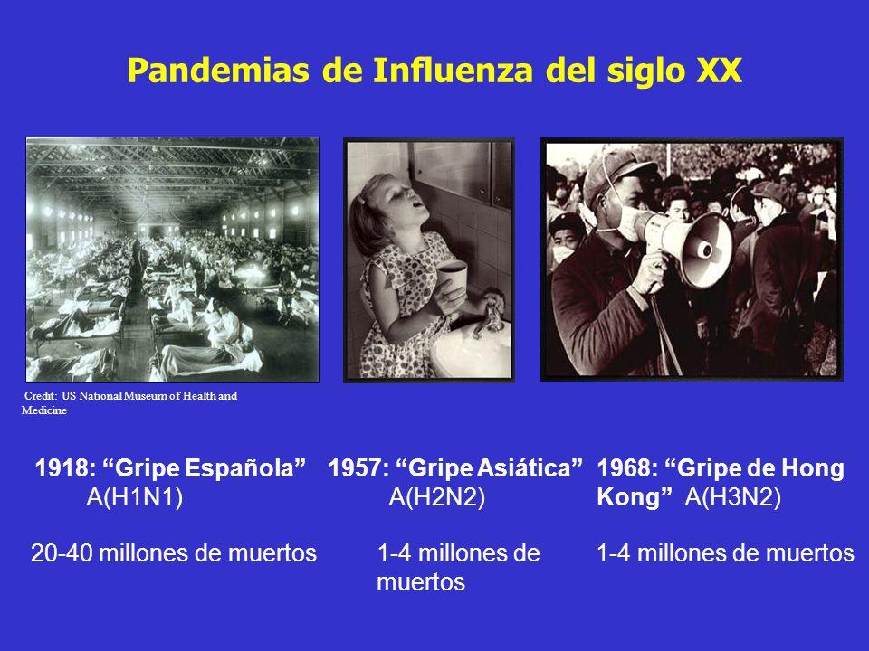 Pandemias de Influenza del siglo XX