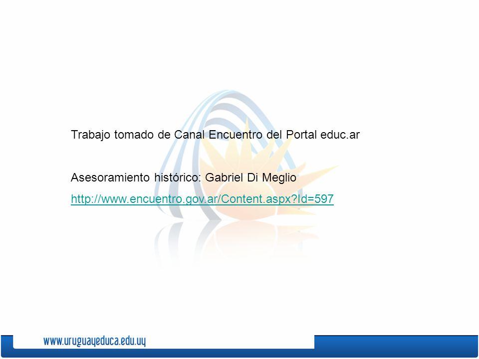 Trabajo tomado de Canal Encuentro del Portal educ.ar