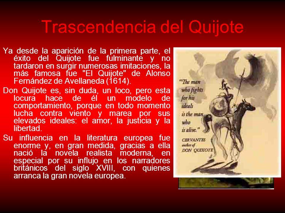 Trascendencia del Quijote