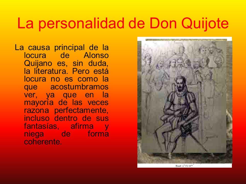 La personalidad de Don Quijote