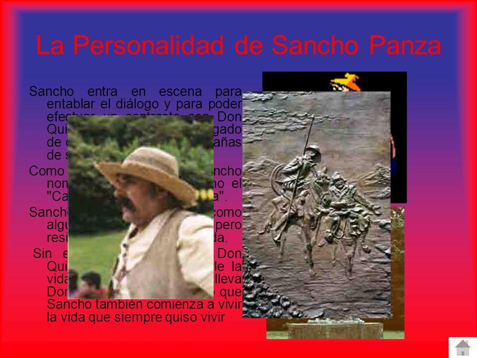 La Personalidad de Sancho Panza