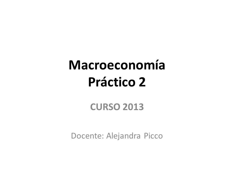 Macroeconomía Práctico 2