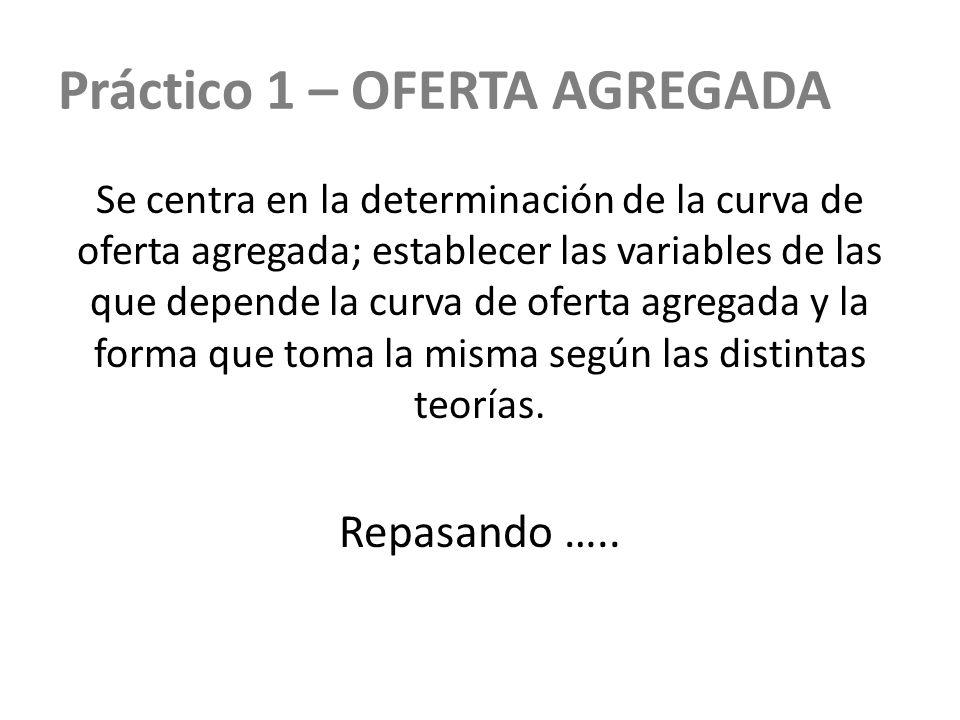 Práctico 1 – OFERTA AGREGADA