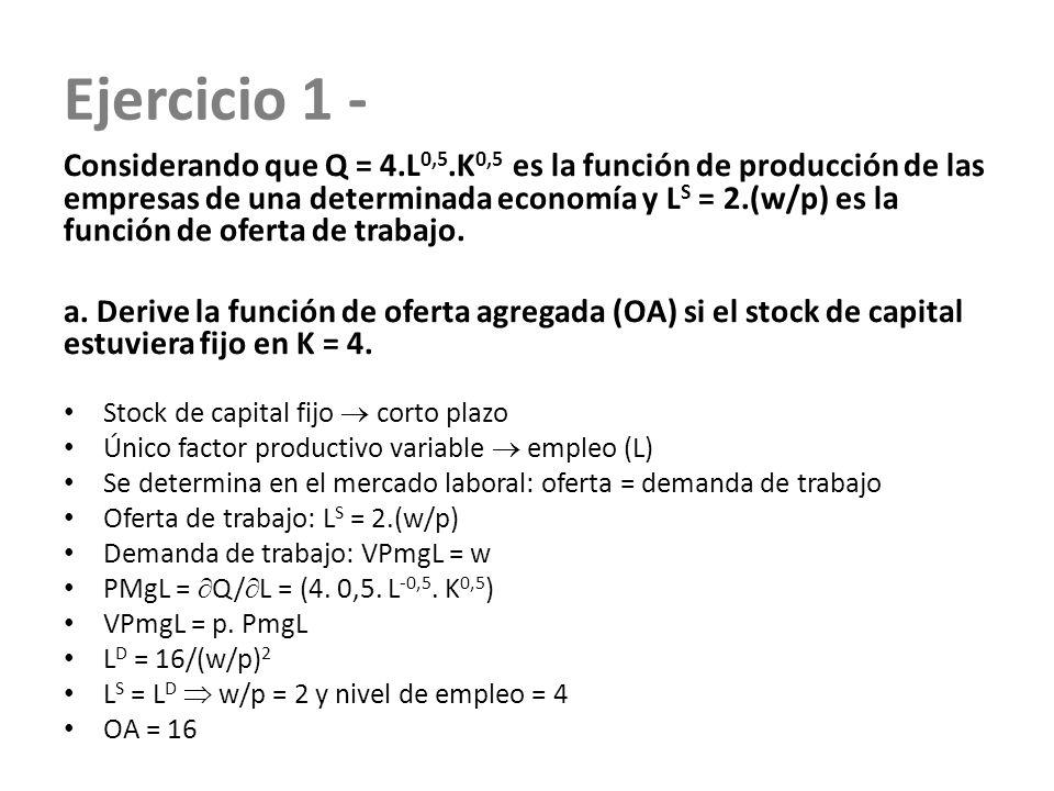 Ejercicio 1 -