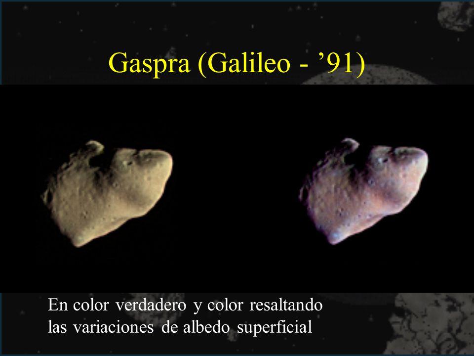 Gaspra (Galileo - '91)