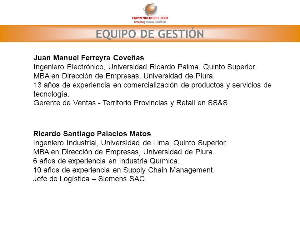 EQUIPO DE GESTIÓN Juan Manuel Ferreyra Coveñas