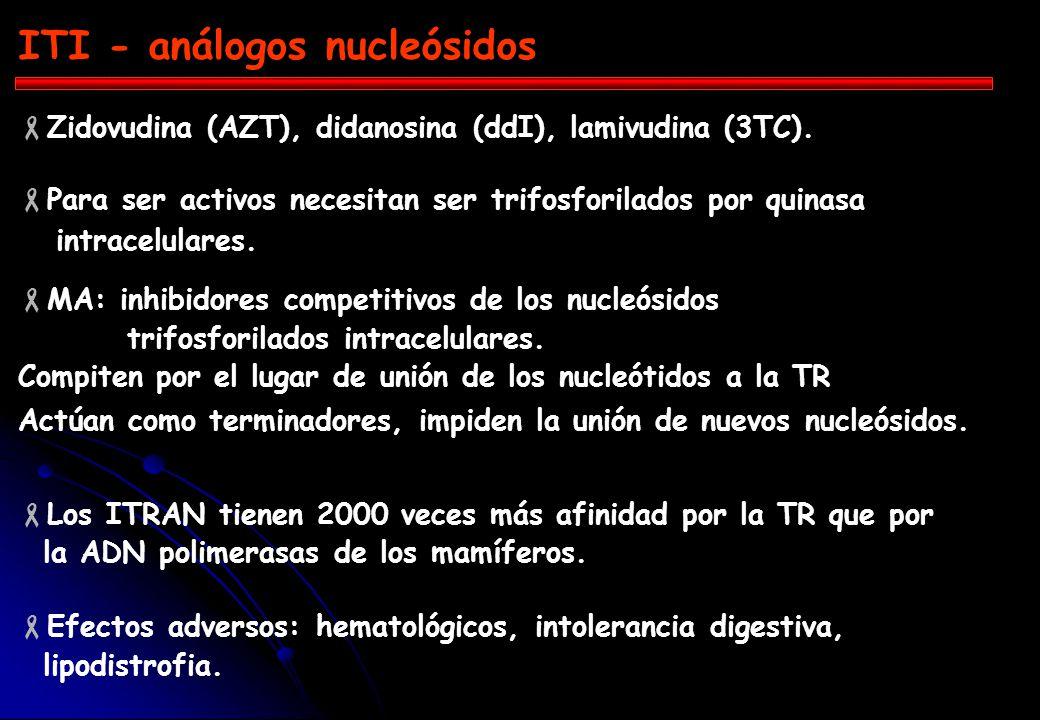 ITI - análogos nucleósidos