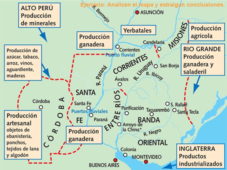 Ejercicio: Analicen el mapa y extraigan conclusiones.