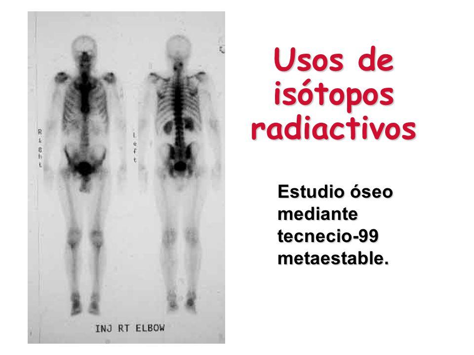 Usos de isótopos radiactivos