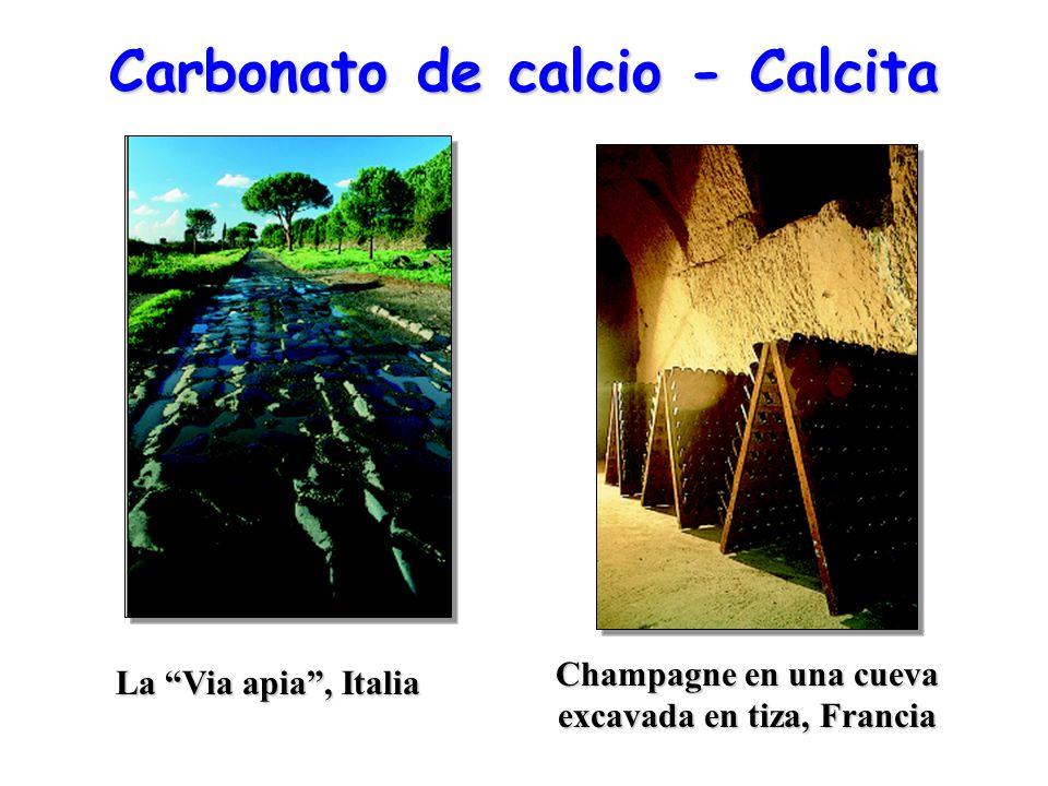 Carbonato de calcio - Calcita
