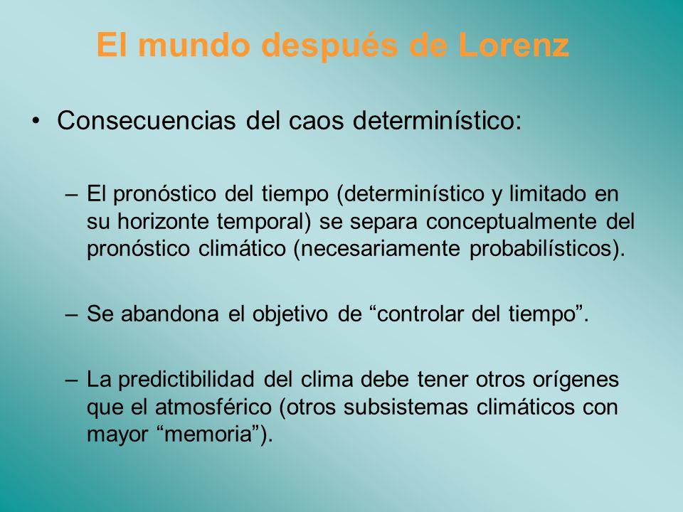El mundo después de Lorenz