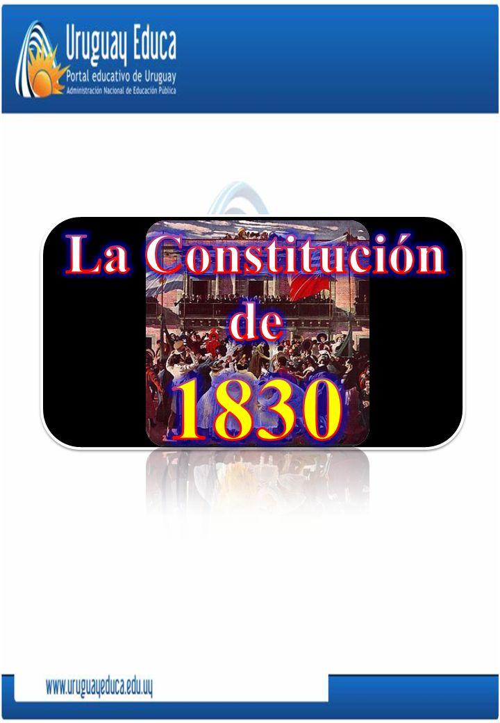 La Constitución de 1830