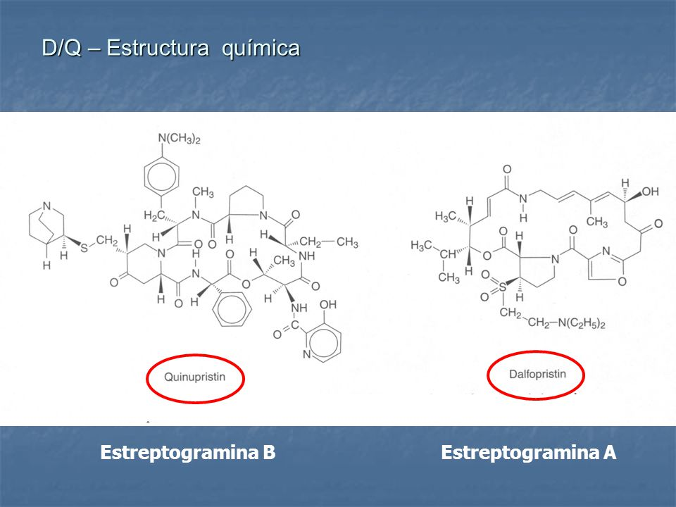 D/Q – Estructura química