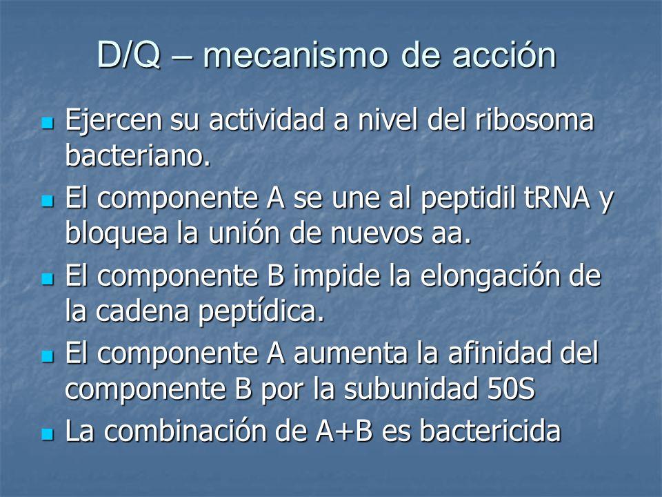 D/Q – mecanismo de acción