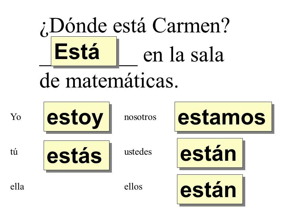 _________ en la sala de matemáticas.