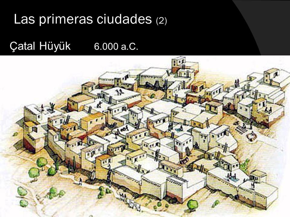 Las primeras ciudades (2)
