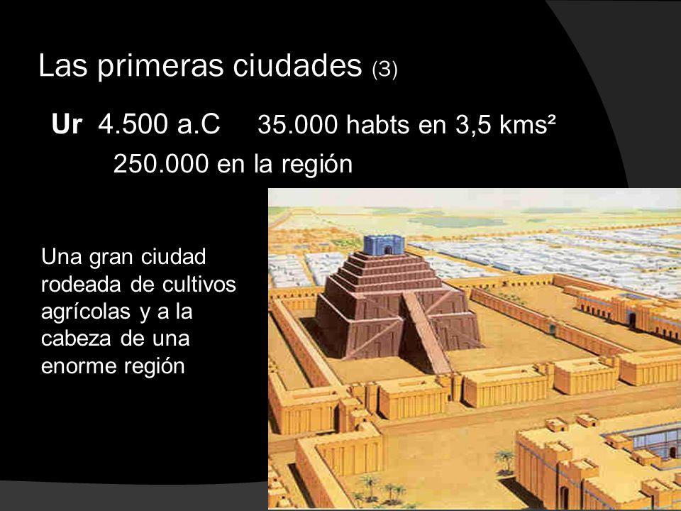 Las primeras ciudades (3)