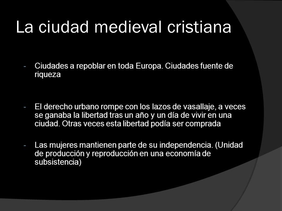 La ciudad medieval cristiana