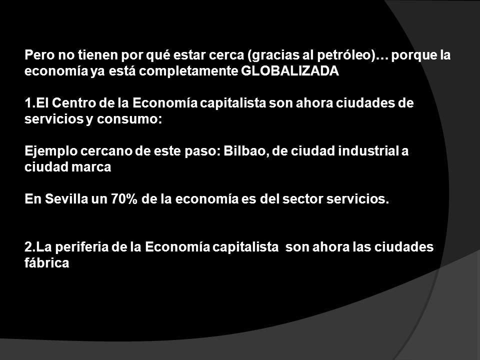 En Sevilla un 70% de la economía es del sector servicios.