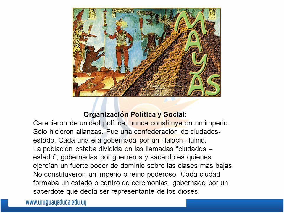 Organización Política y Social: