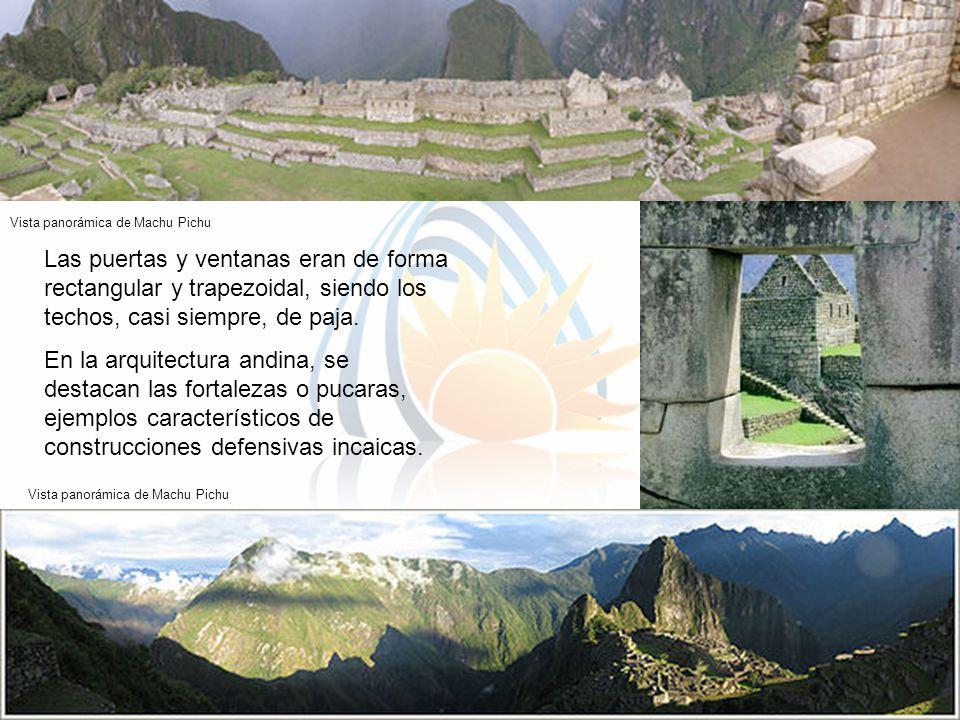 Vista panorámica de Machu Pichu