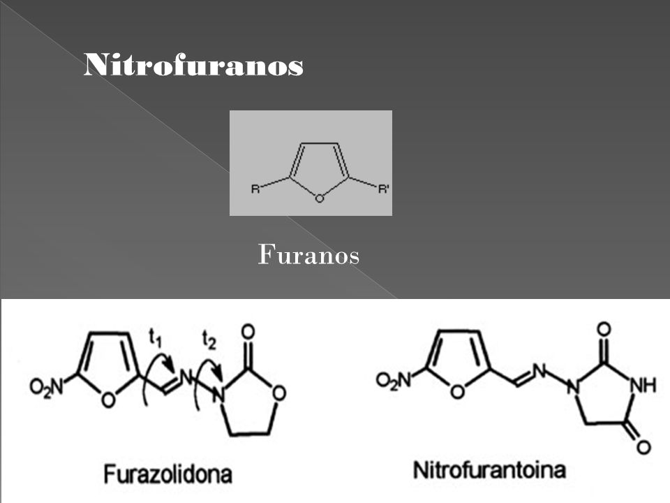 Nitrofuranos Furanos