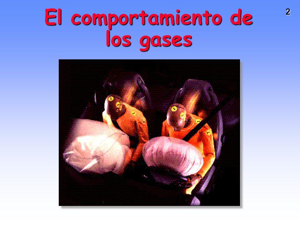 El comportamiento de los gases