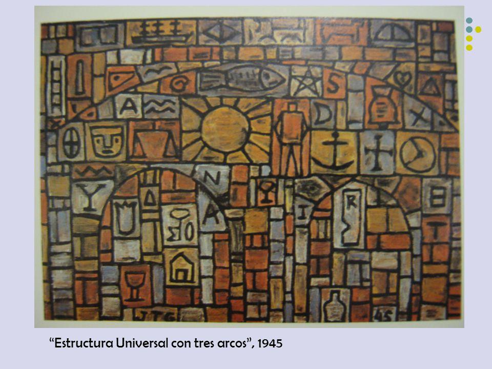 Estructura Universal con tres arcos , 1945