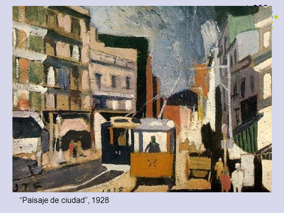 Paisaje de ciudad , 1928