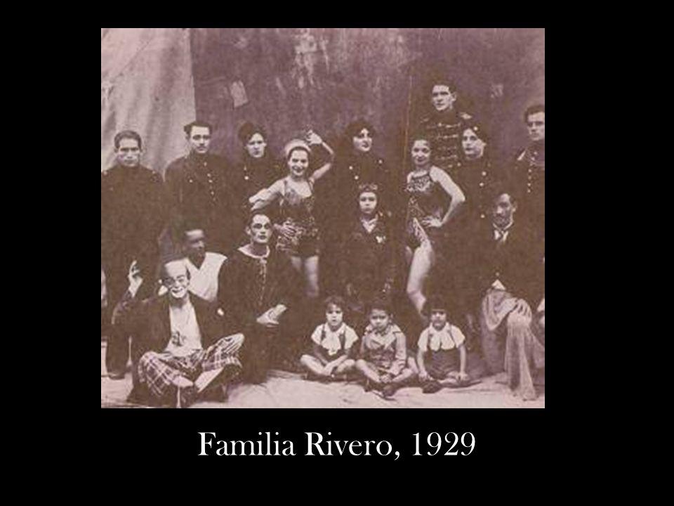 Familia Rivero, 1929