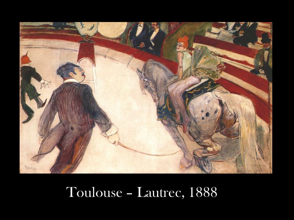 Toulouse – Lautrec, 1888